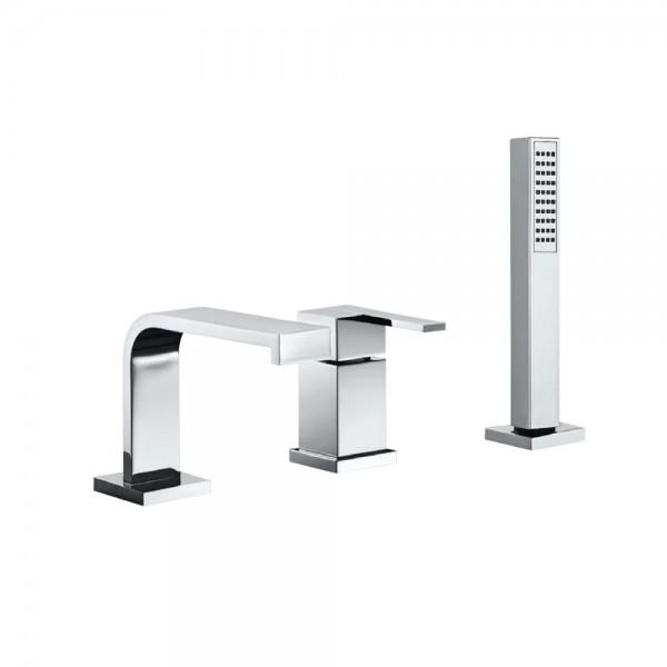 3-Hole Bath & Shower Mixer