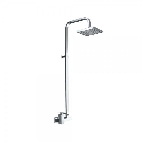Single Lever Exposed Shower Mixer with Shower Pipe