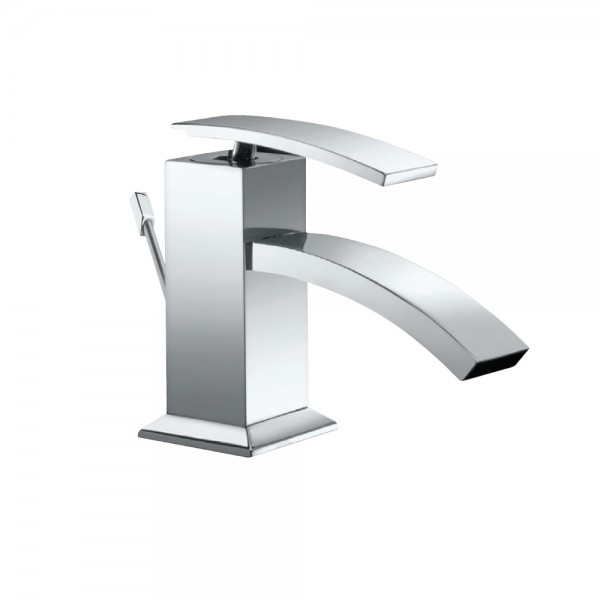 Single Lever Bidet Mixer with Popup Waste