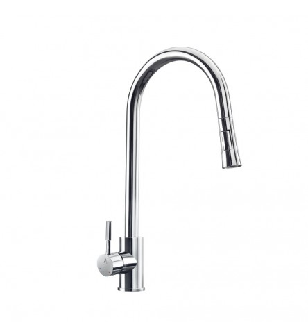 FLO² Single Lever Pulldown Sink Mixer